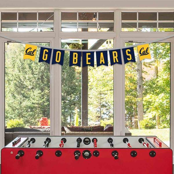 Banner Pennant Flag String for University of California Bears