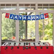 Banner Pennant Flag String for University of Kansas Jayhawks