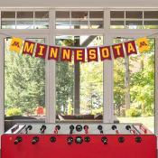 Banner Pennant Flag String for University of Minnesota Gophers