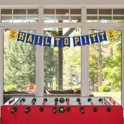 Banner Pennant Flag String for University of Pittsburgh Panthers