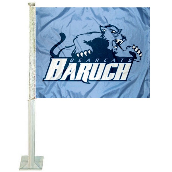 Baruch College Bearcats Car Flag