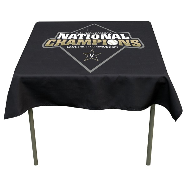 Baseball National Champions Tablecloth for Vanderbilt Commodores