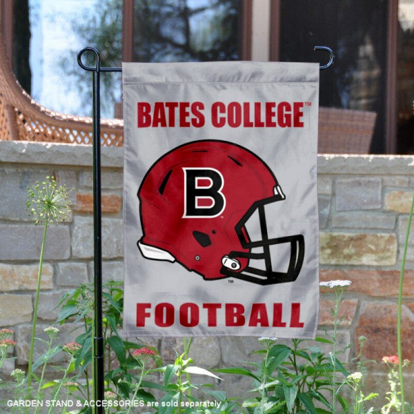 Bates College Bobcats Football Garden Flag