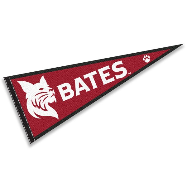 Bates College Bobcats Pennant