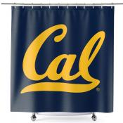 Bathroom Shower Curtain for Cal Berkeley Golden Bears
