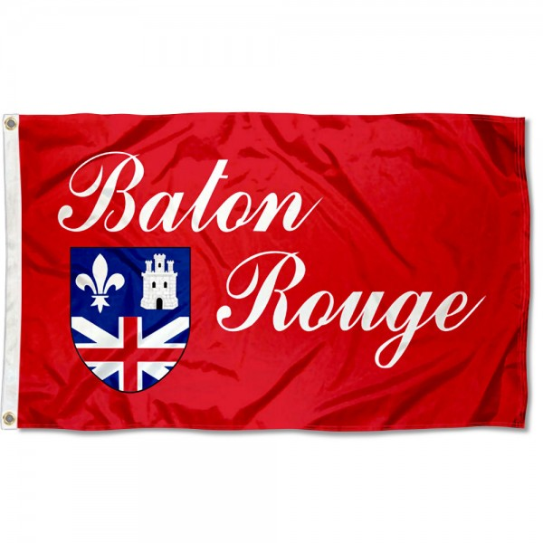 Baton Rouge City 3x5 Foot Flag