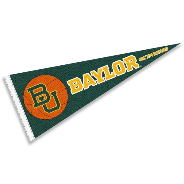 Baylor Bears Basketball Pennant