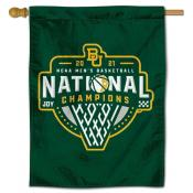 Baylor Bears College Basketball National Champions Banner Flag