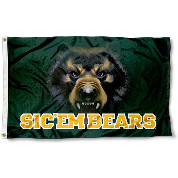 Baylor Bears Eyes Flag
