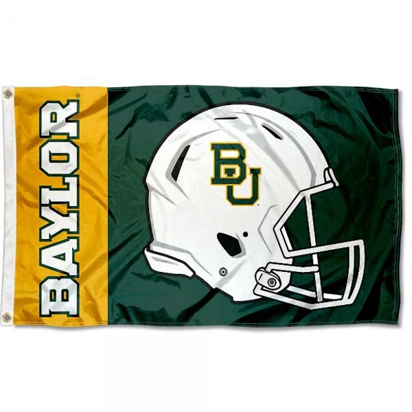 Baylor Bears Helmet Flag
