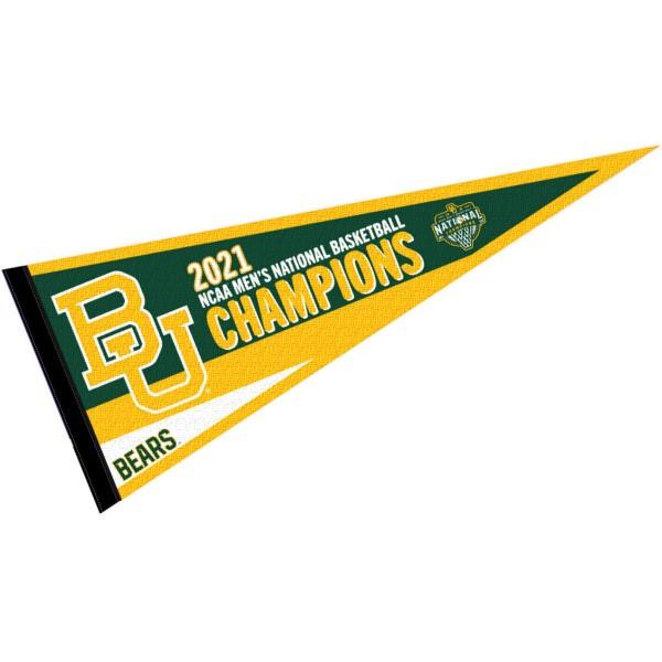 Baylor Bears Mens 2021 Basketball National Champions Pennant