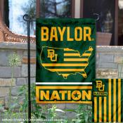 Baylor Bears Nation Garden Flag