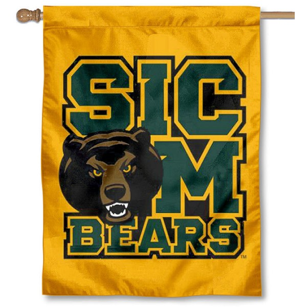 Baylor Bears Sic Em House Flag