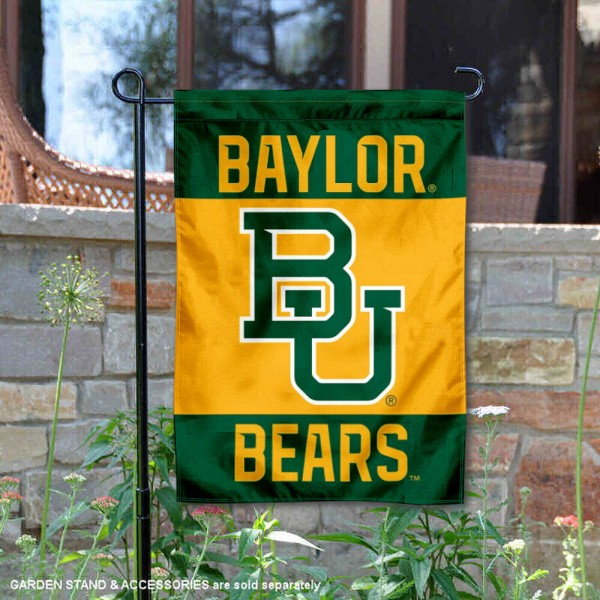 Baylor BU Bears Double Sided Garden Flag