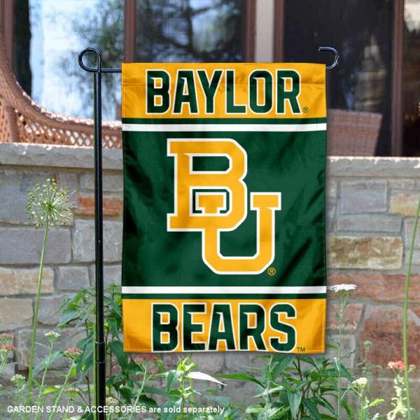 Baylor BU Bears Garden Flag