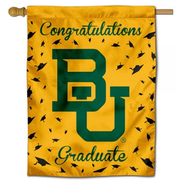 Baylor BU Bears Graduation Banner