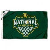 Baylor BU Bears Mens Basketball National Champions 2x3 Flag