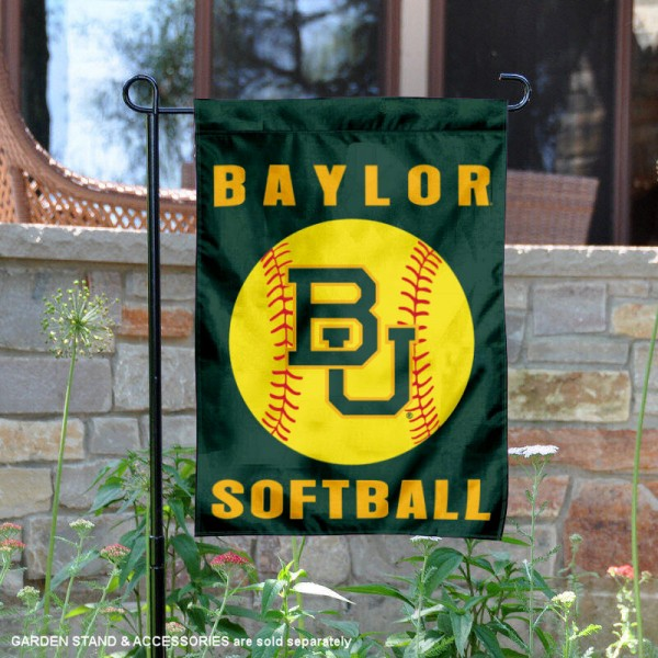 Baylor BU Bears Softball Garden Flag