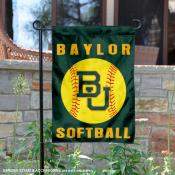 Baylor BU Bears Softball Garden Flag