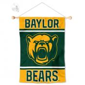 Baylor BU Bears Window Hanging Banner with Suction Cup