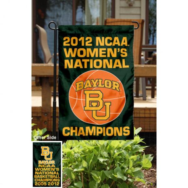 Baylor University Basketball Champs Garden Flag