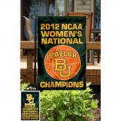 Baylor University Basketball Champs Garden Flag