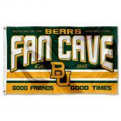 Baylor University Bears Man Cave Dorm Room 3x5 Banner Flag