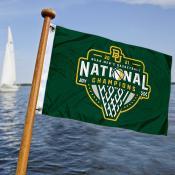 Baylor University College Basketball 2021 National Champions Boat Nautical Flag