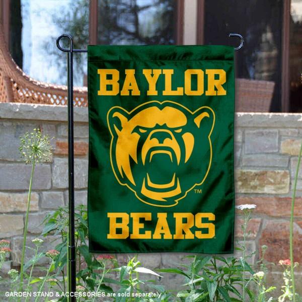 Baylor University New Bear Double Sided Garden Flag
