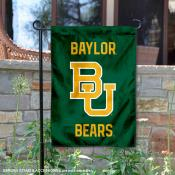 Baylor University New Logo Double Sided Garden Flag