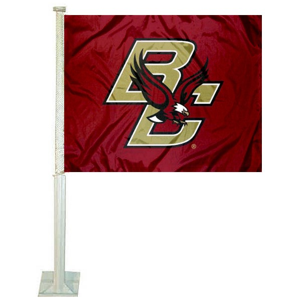 BC Eagles Car Flag