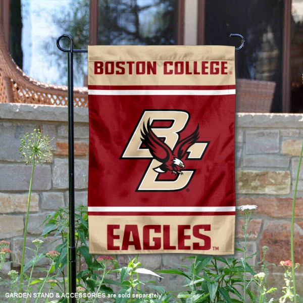 BC Eagles Garden Flag