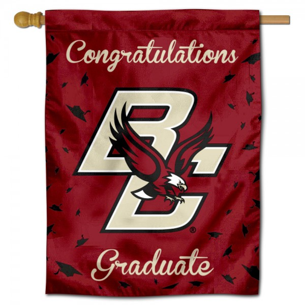 BC Eagles Graduation Banner