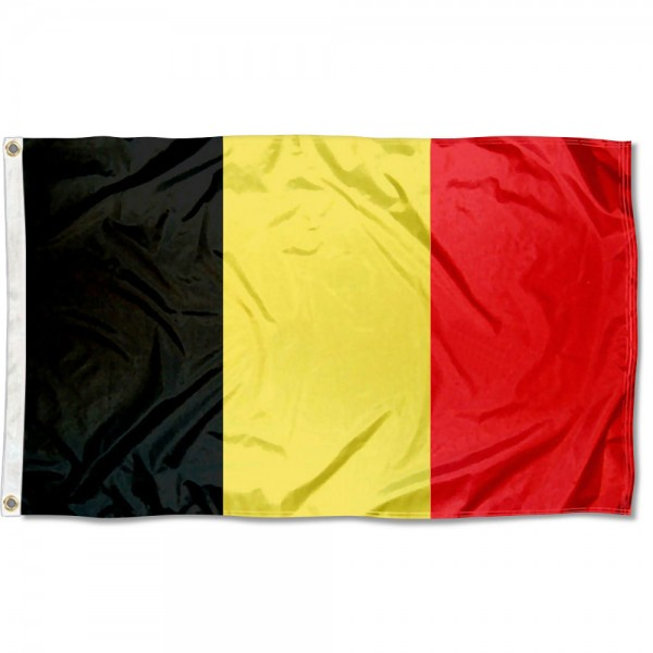 Belgium Country 3x5 Polyester Flag