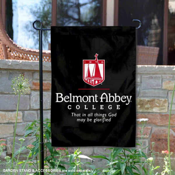 Belmont Abbey Crusaders Garden Flag
