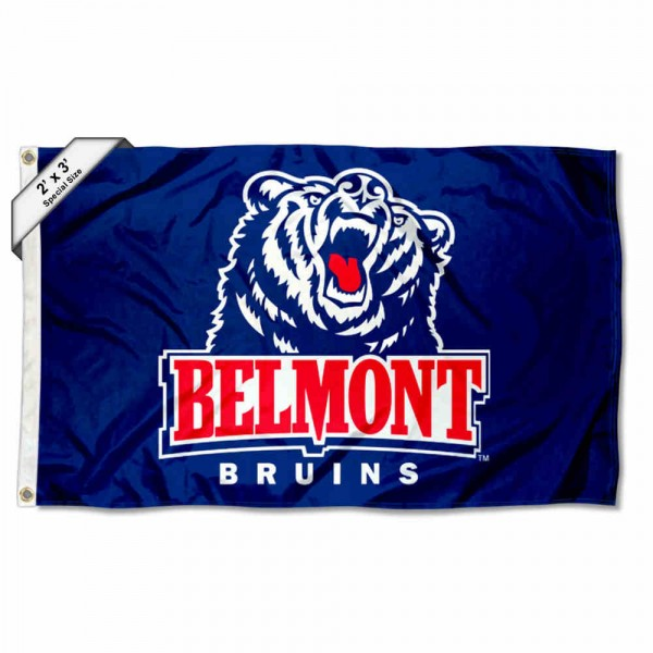 Belmont Bruins 2x3 Flag
