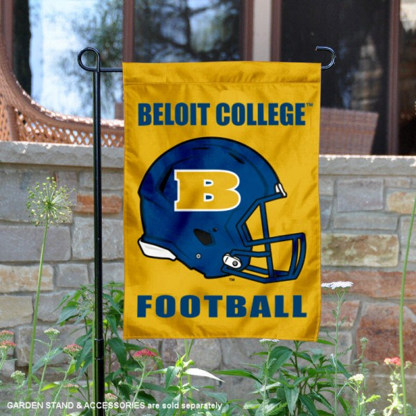 Beloit College Bucs Football Garden Flag