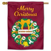 Bethune Cookman Wildcats Christmas Holiday House Flag