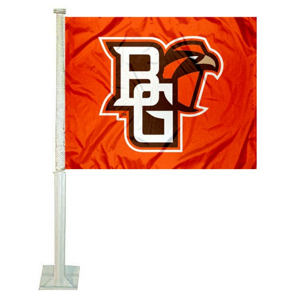 BGSU Falcons Car Flag