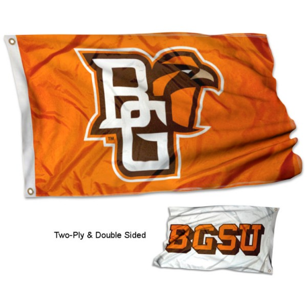 BGSU Falcons Dual Logo Flag