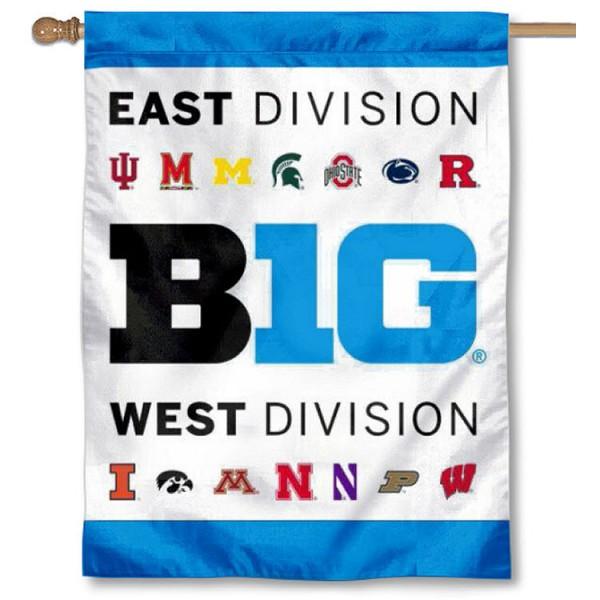 Big 10 East West Division Banner