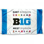 Big 10 East West Divisions Flag
