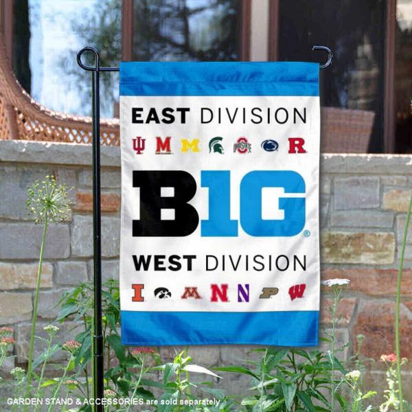 Big Ten Conference Garden Flag