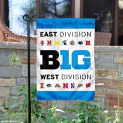 Big Ten Conference Garden Flag