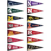 Big Ten Pennant Set