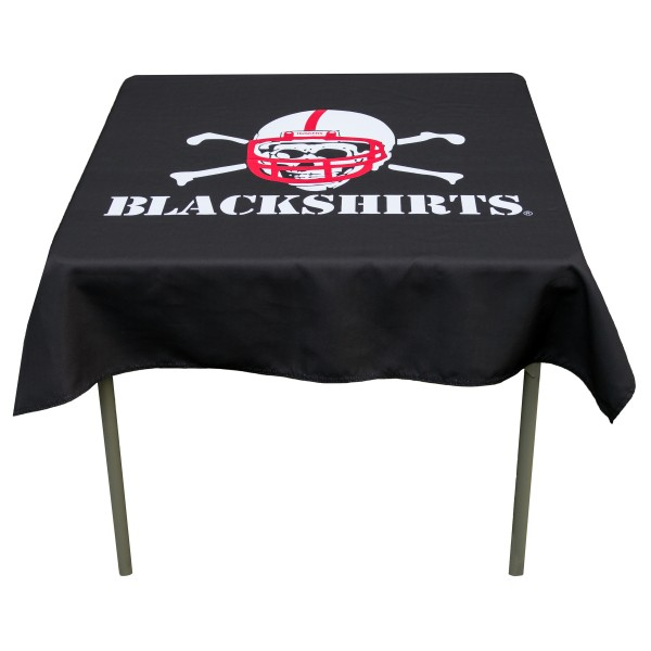 Blackshirts Tablecloth for Nebraska Cornhuskers
