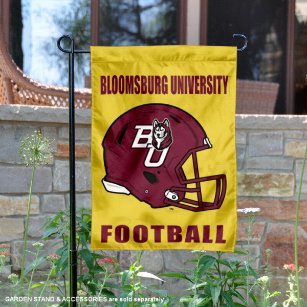 Bloomsburg Huskies Football Garden Flag