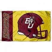 Bloomsburg Huskies Helmet Flag