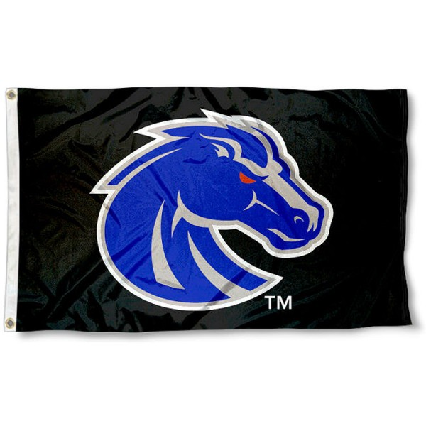 Boise State Broncos Blackout Flag