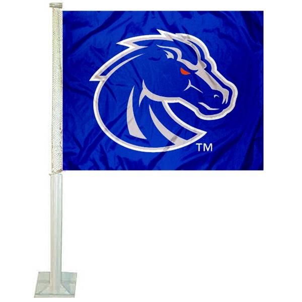 Boise State Broncos Car Flag